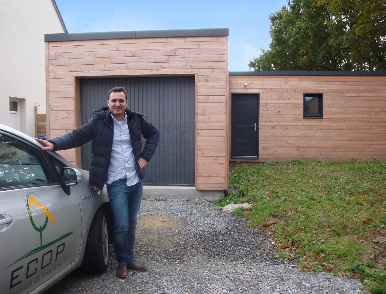 Construction Bois Ecologique : Livraison maison ?cologique ECOP Habitat en Loire Atlantique.