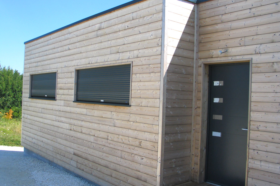 Lambris pvc exterieur gris anthracite awesome brico depot for Bois construction exterieur