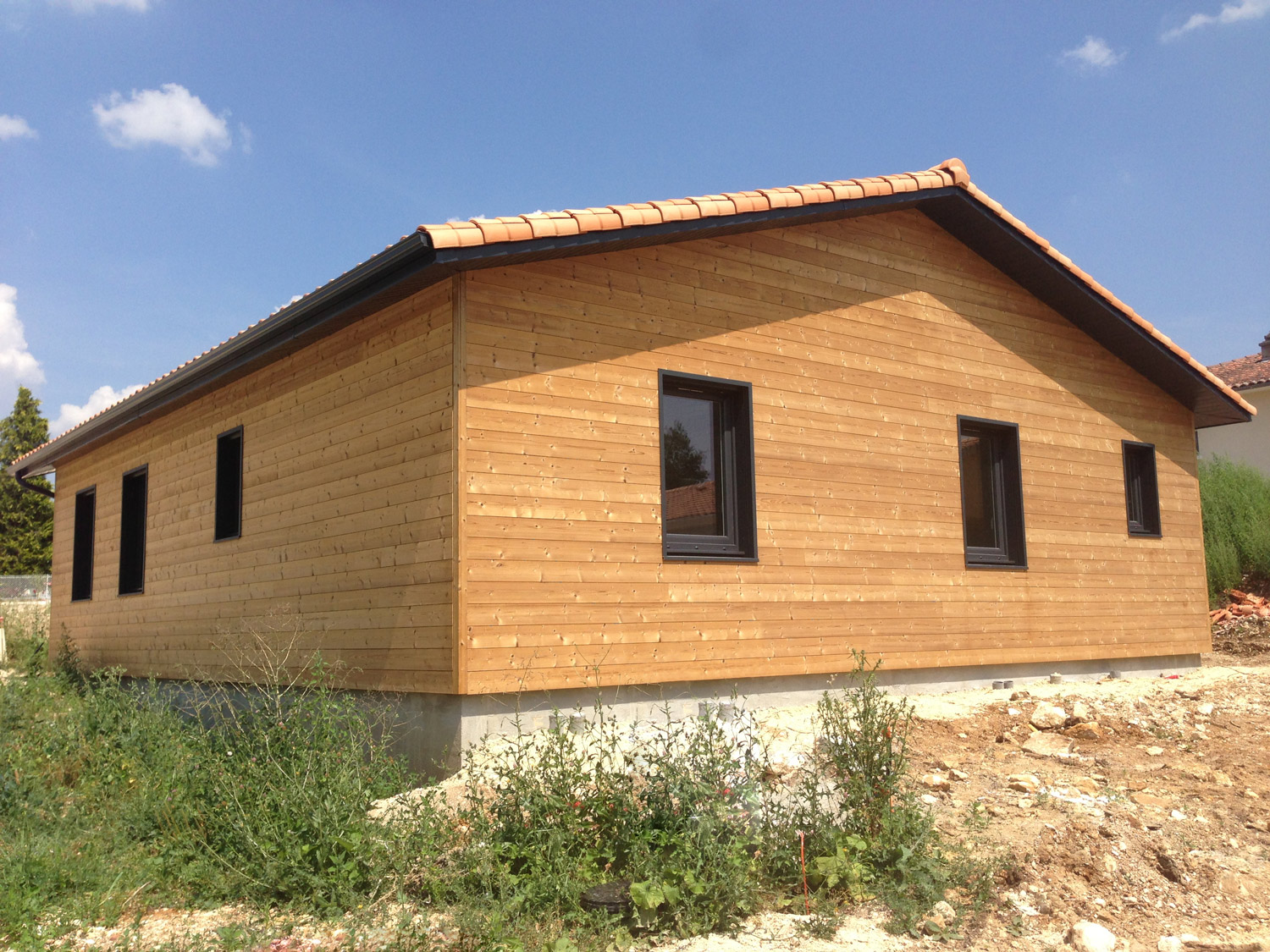 Cout construction maison bois for Prix autoconstruction