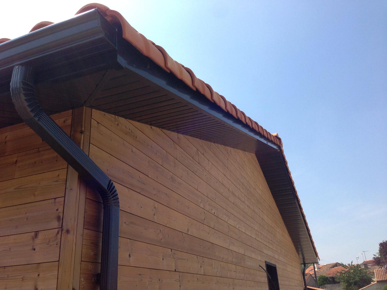 Toiture dune maison en bois ECOP Habitat