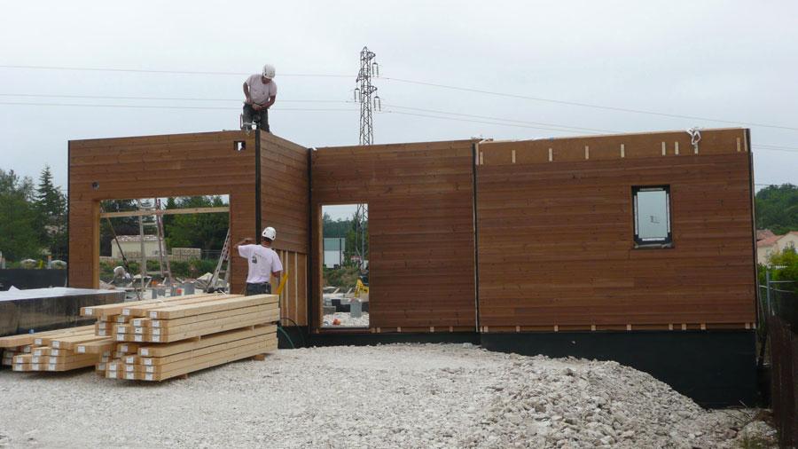 Maison bois prfabrique prix norme bbc maison en bois en - Maison modulaire bois prix ...