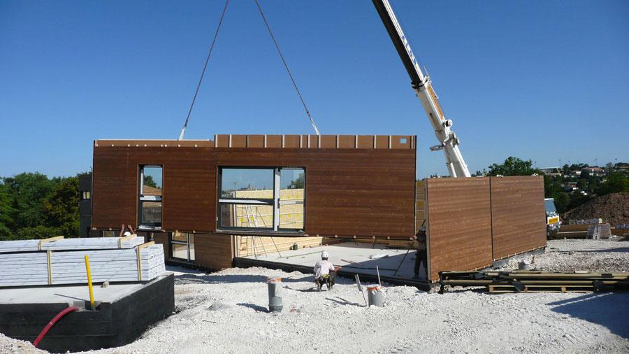 Maison prfabrique en bois btiment prfabriqu en bois - Prefabrique bois maison ...