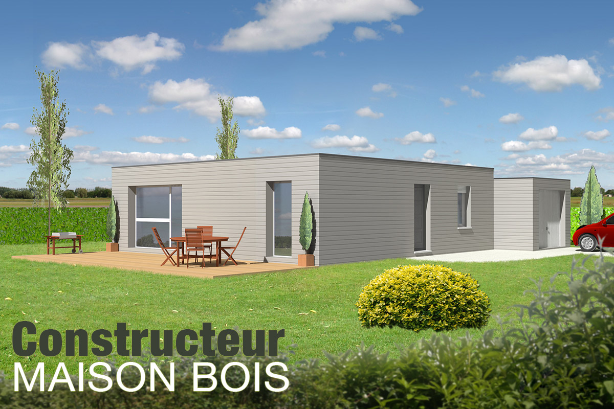 Excellent conception duune maison bois par ecop habitat for Cout construction maison 100m2