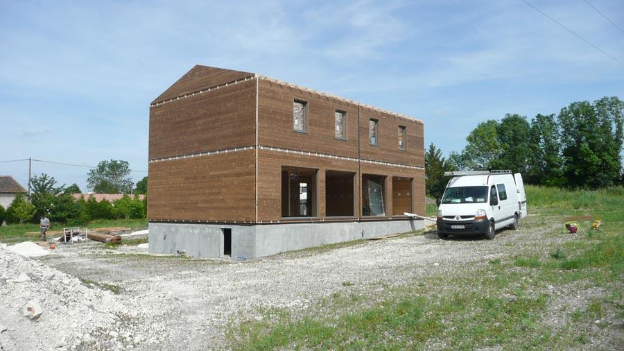 Maison en bois maison en bois ce quu0027il faut savoir for Construire une maison ce qu il faut savoir