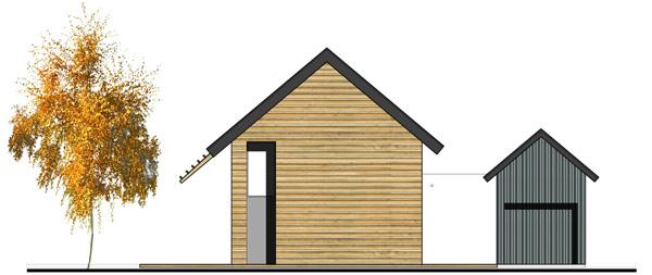 Fa ades de maisons cologiques ecop habitat constructeur for Constructeur maison ecologique