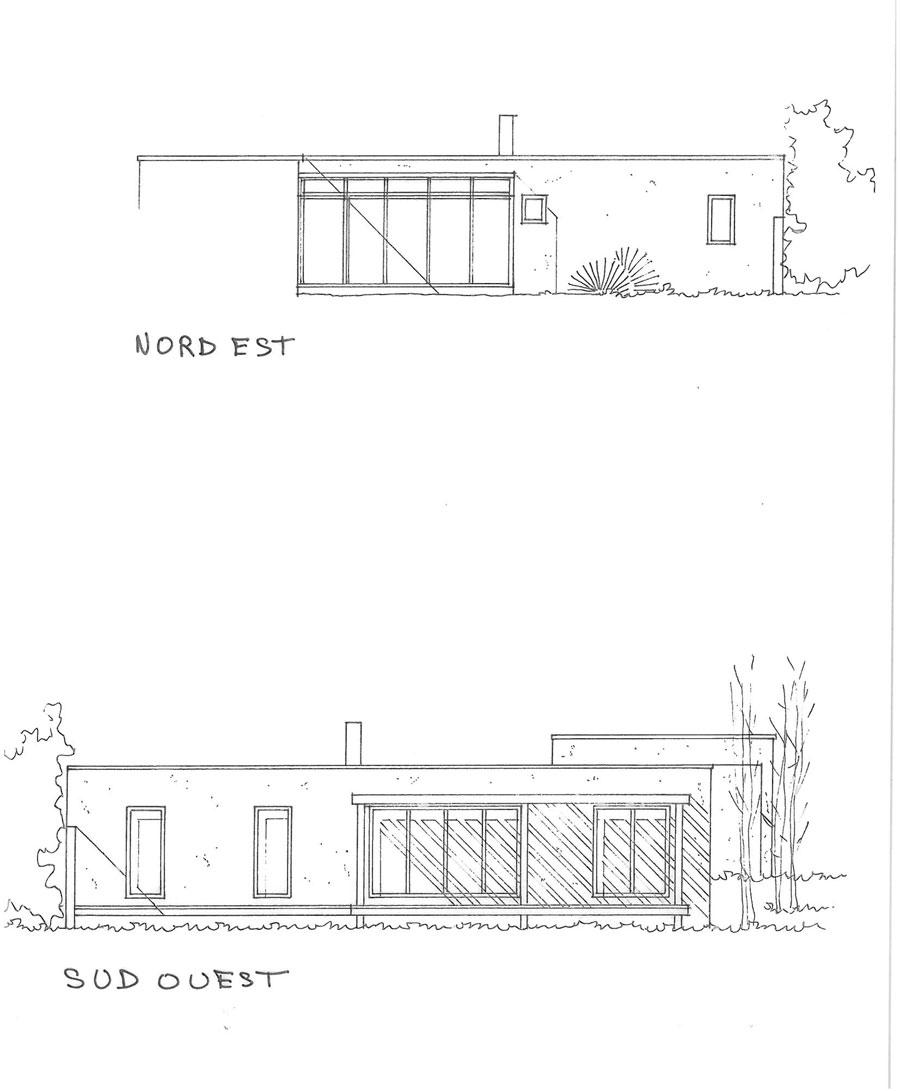 Plans maisons ecologiques joy studio design gallery for Plan maison sud est