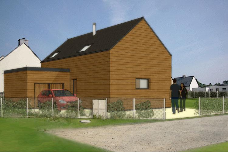 Int grations maisons cologiques ecop habitat for Constructeur maison ecologique
