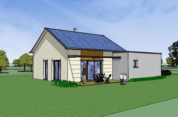 constructeur maison ecologique maison moderne