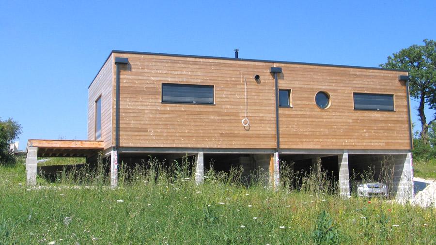 Constructeur CCMI maisonécologique et bioclimatique en bois (RT2012)  # Maison Ecologique En Bois