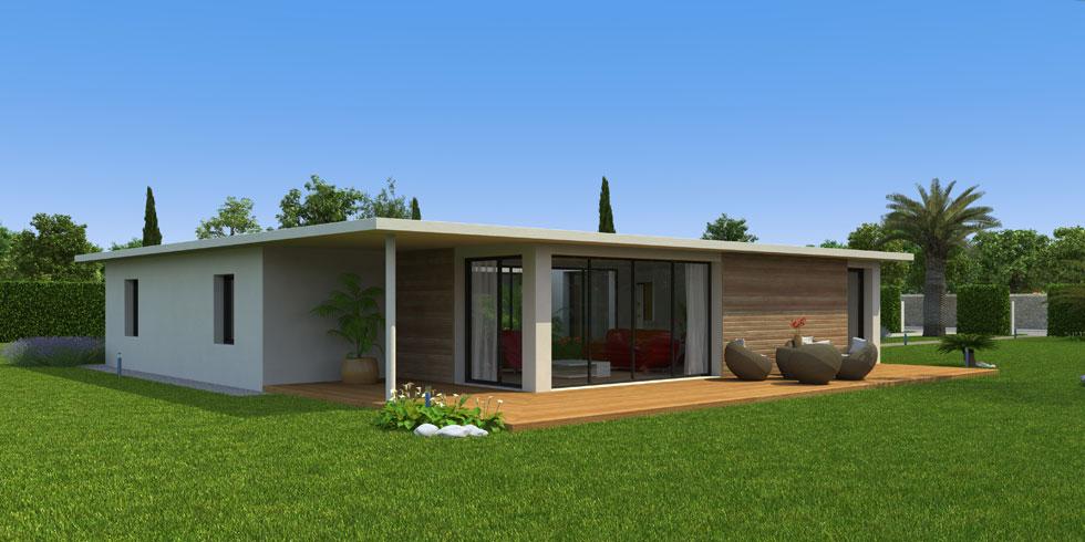 Constructeur CCMI de maison en bois écologique avec Ecop Habitat