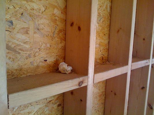 Modes de construction pour votre maison bioclimatique et cologique - Pose placo sur ossature bois ...