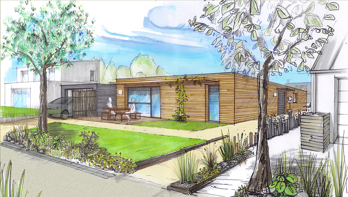 Lofts cologiques et bioclimatiques constructeur ccmi for Achat dune maison
