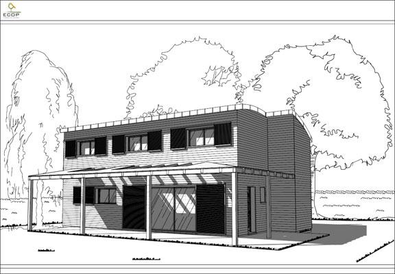Dessin de maison moderne autres nouveaux plans de maison for Dessiner ma maison en ligne