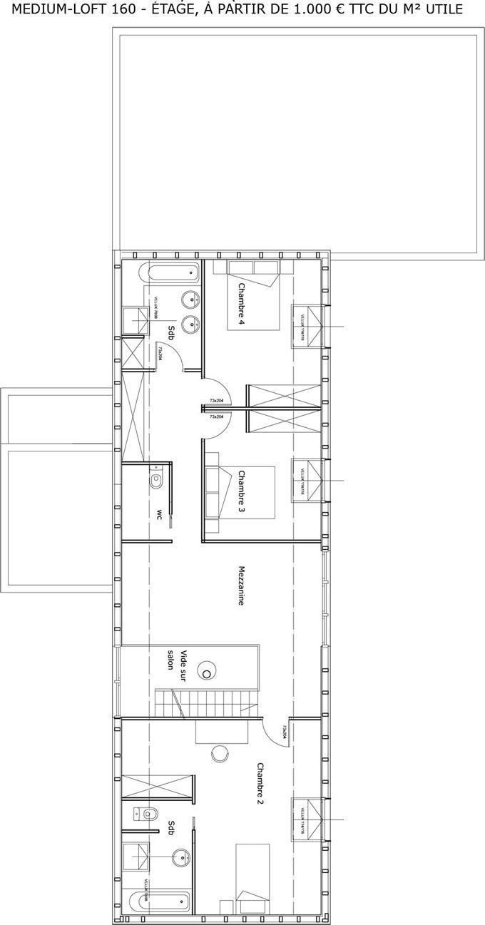 plan maison cologique medium constructeur maison bois. Black Bedroom Furniture Sets. Home Design Ideas