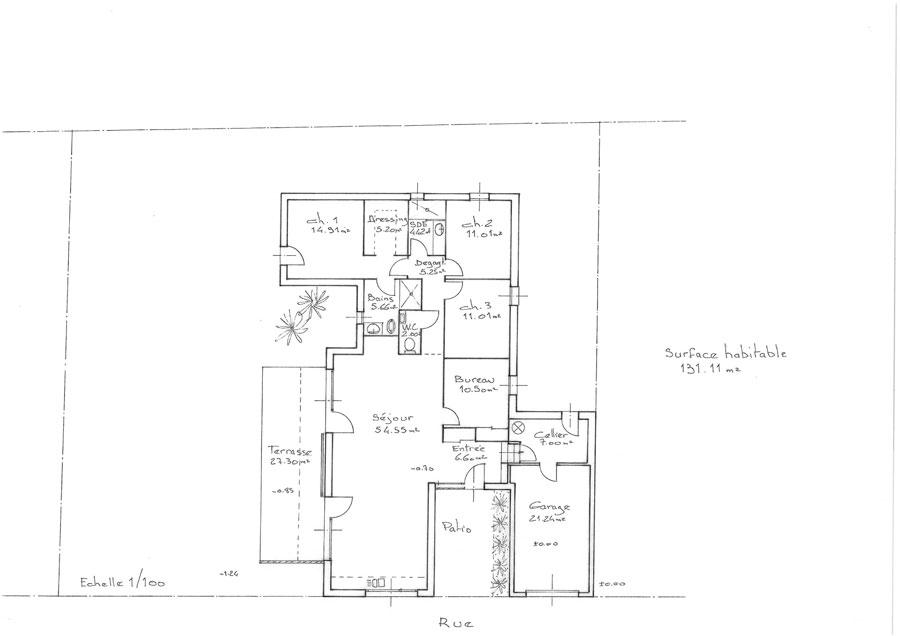 Plan Maison Écologique (Medium) - Constructeur Maison Bois Ccmi Rt2012.