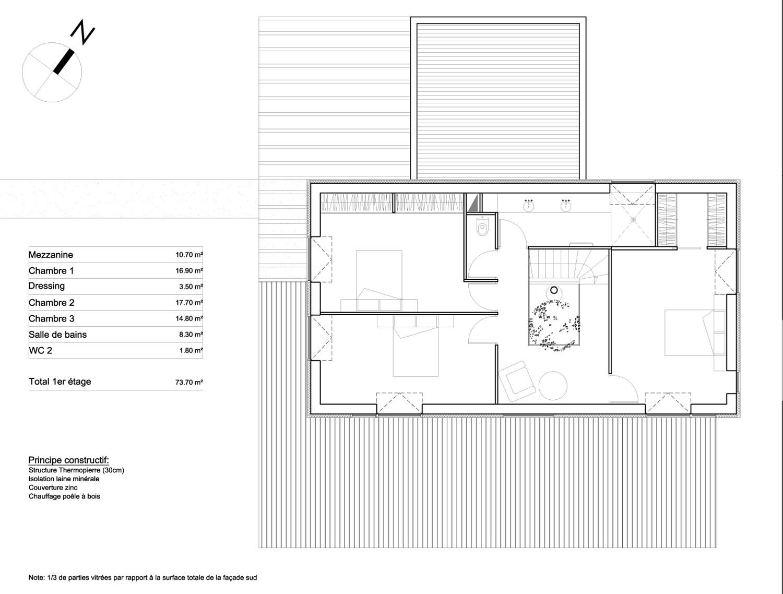 Plan de maison ecologique gratuit photos de conception for Plan maison jumelee gratuit